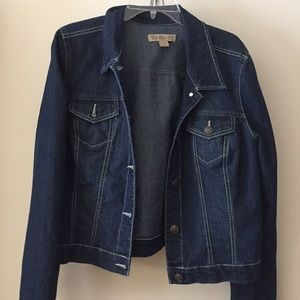 Nine West vintage America collection jean jacket